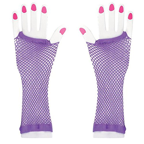 Fishnet Fingerless Wrist Gloves Accessory