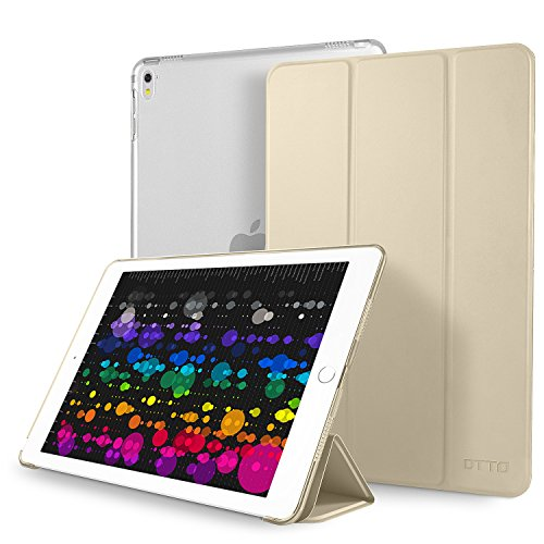 iPad Pro 10.5 Case, DTTO Ultra Slim Fit Smart-shell Stand Co