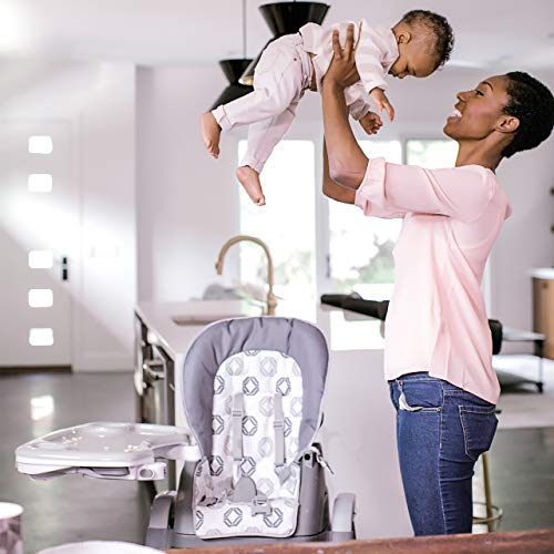 Ingenuity SmartServe 4-in-1 High Chair with Swing Out Tray – Clayton – High Chair, Toddler Chair, and Booster by Ingenuity (Image #13)