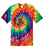 Best Threads T Shirts - Gravity Threads Mens Tie-Dye Short-Sleeve T-Shirt - Rainbow Review