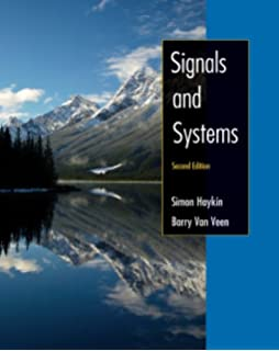 Simon Haykin And Barry Van Veen Signals And Systems Epub