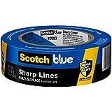 "Scotch Painter's Tape 2090EL-36E Trim + Baseboards, 1.41"" Width, Blue"