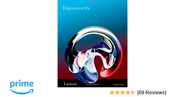 Amazon trigonometry 8th edition 9781439049075 ron larson books fandeluxe Images