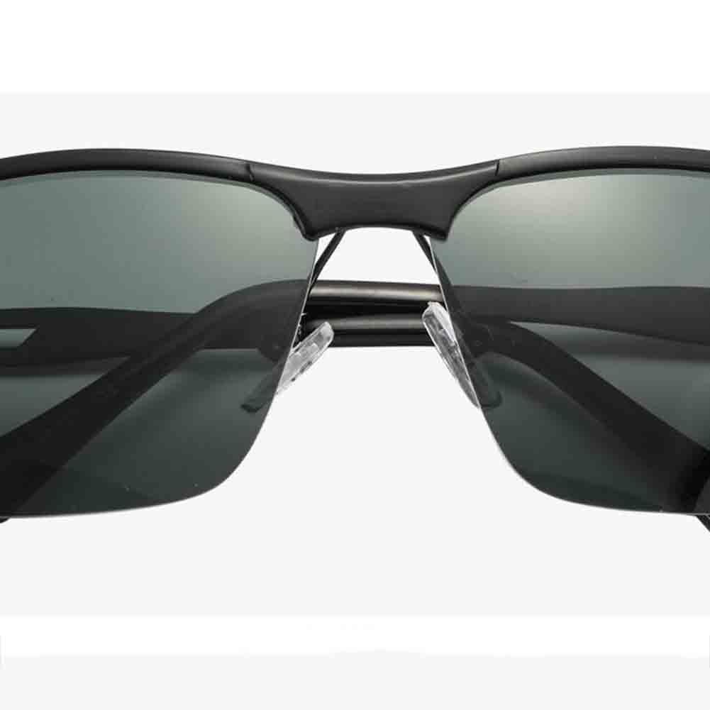 SUNNY Black/Green) Gafas De Sol para B0722RLTHK Hombres Gafas De De ...