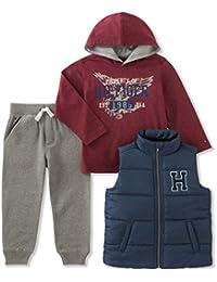 Baby Boys' 3 Piece Puffy Vest Set