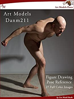 Art Models DanM211: Figure Drawing Pose Reference (Art Models Poses) by [Johnson, Douglas]
