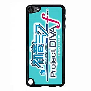 Stylish Phone Case With Hatsune Miku Japan Anime For Apple iPod Touch 5th Hard Plastic Case Cover With Hatsune Miku Japan Anime Logo For Apple iPod Touch 5th