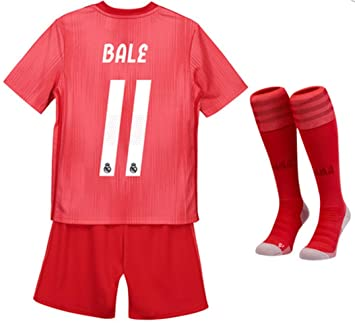 size 40 07568 14ecf Amazon.com : ZZXYSY Gareth Bale #11 Real Madrid Kids/Youths ...