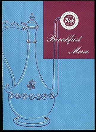 Albert Pick Hotels Pick-Lee House Washington DC Breakfast