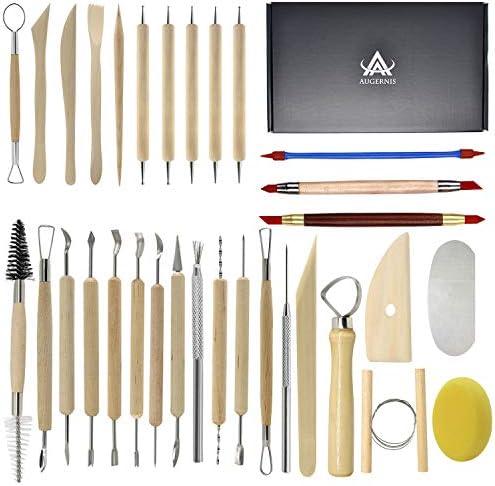 Set of 5 Moulded Tools For Ceramic Work Jovi Ceramic Modelling Tools