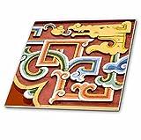 3dRose Danita Delimont - Artwork - Asia, Mongolia, Ulaanbaatar, Gandantegchinlen, Gandan, Monastery. - 8 Inch Glass Tile (ct_276934_7)