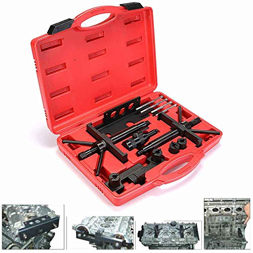 (Eteyo Volvo Camshaft Crankshaft Engine Alignment Timing Locking Fixture Tool Set Kit for 4, 5, 6 Cylinder Engines )