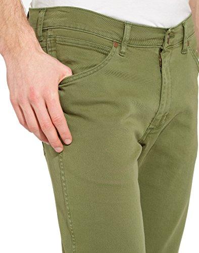 Jeans 35 Green Leg Wrangler fairway Uomo Greensboro 34w Straight 34l Verde HwqnxZPF6