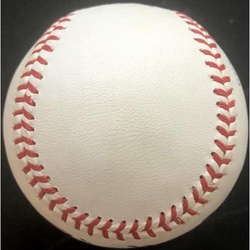 Billy Martin Autographed Baseball - America League Brown LOA