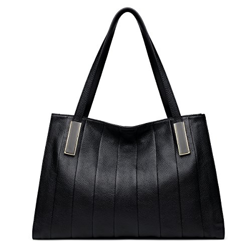ZOOLER Leather Handbags Tote Designer Purses Shoulder Top-Handle Bags for Women