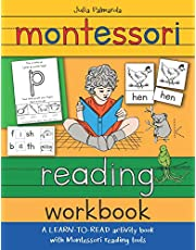 Montessori Reading Workbook: A LEARN TO READ activity book with Montessori reading tools: 1