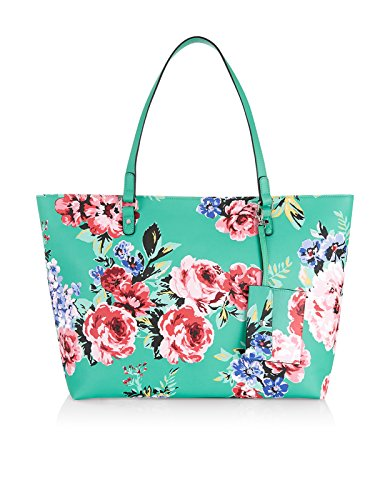 Accessorize Womens Floral Isabella Winged Tote Bag