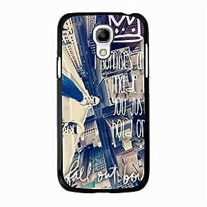 Samsung Galaxy S4 Mini Case Cover Modern Buliding Design EMO Rock Band Fall Out Boy Phone Case Cover for Samsung Galaxy S4 Mini FOB Punk Band Popular