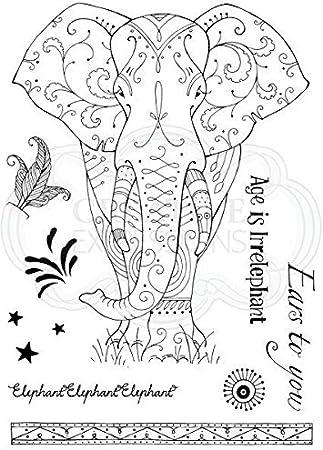 Pink Ink Designs 7 Stamps #PI094 ROSEHIP Clear A5 Stamp Set