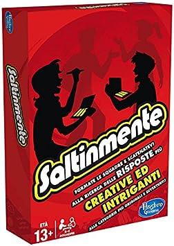 Hasbro Gaming - Scattergories, Juego de Preguntas (versión en Italiano): Amazon.es: Juguetes y juegos
