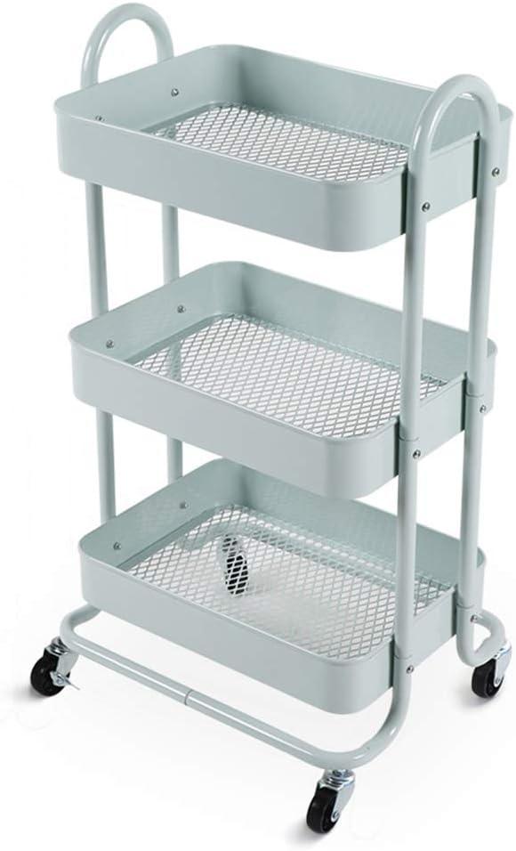 Carro De Vino - Estante De Cocina MóVil IKEA con EstanteríA De Almacenamiento En El Dormitorio con Ruedas, Plataforma De Almacenamiento De Empuje Manual para NiñA De MúLtiples Capas: Amazon.es: Hogar