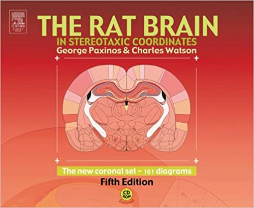 Amazon The Rat Brain In Stereotaxic Coordinates The New