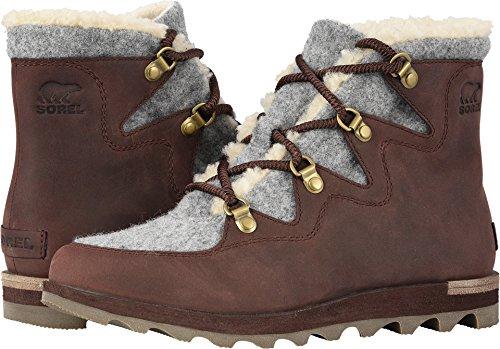 SOREL Womens Sneakchic Alpine Cattail Gum Boot - 6 ()