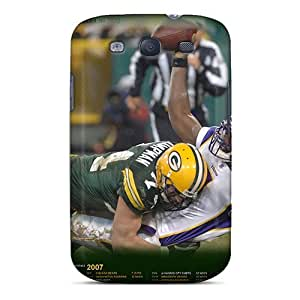 For MXcases Galaxy Protective Case, High Quality For Galaxy S3 Green Bay Packers Skin Case Cover