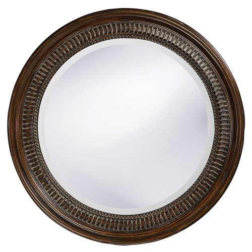 Howard Elliott 2172 Monmouth Mirror, Antique Brown (Antique Brown Wall Mirror)