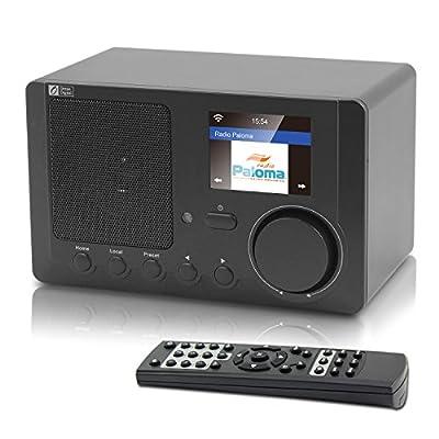 Ocean Digital Internet Radio WR-210CB Color Display WiFi Bluetooth Wireless Multimedia Speaker Music Media Player Desktop from Ocean Digital