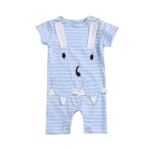 53dca8319 Amazon.com  Kaicran Newborn Infant Baby Boy Girl Kids Cotton Romper ...
