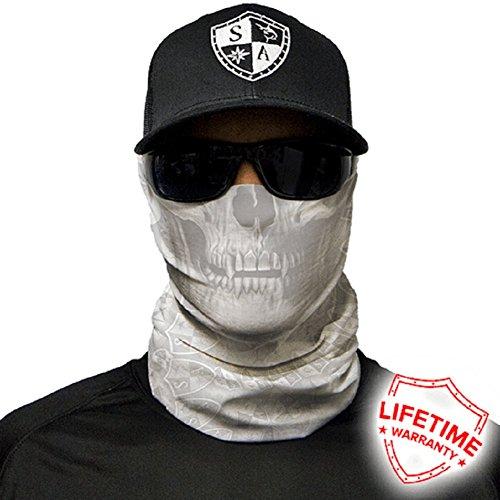 Salt Armour Face Mask Shield Protective Balaclava Alpha Defense (Ghost (White Skull Ski Mask)