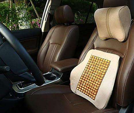 sommer holzperlen massage kissen einzelst/ück autositz kissen bequem und atmungsaktiv ,B Autozubeh/ör