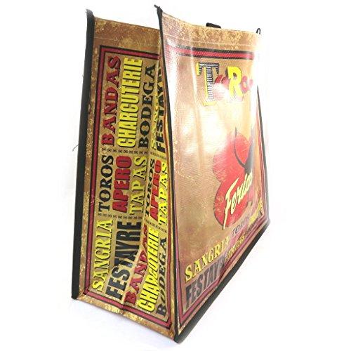 El Mayor Proveedor En Línea Barata Retro shopping bag Torotapasmarrone rosso (46x40x19 cm). Pagar Con Visa De Precio Barato Footlocker Imágenes En Línea La Venta Mejor Precio Barato hkkaT