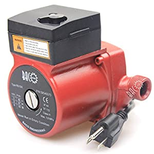 "51xOcqj0mjL. SS300  - BACOENG 3/4""-2"" 110V/115V BSP Hot Water Circulation Pump /Circulator Pump For Solar Heater System With US Plug"