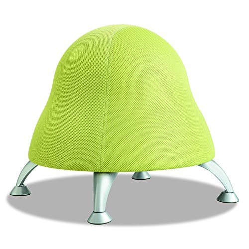 (Safco Products Runtz Ball Chair 4756GS, Green Apple, Anti-Burst Exercise Ball, Active)