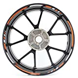 ktm rim stickers - SpecialGP color-matched adhesive rim-striping wheel rim pin stripe pinstriping tape sticker decals for KTM RC8-R 17-inch wheels