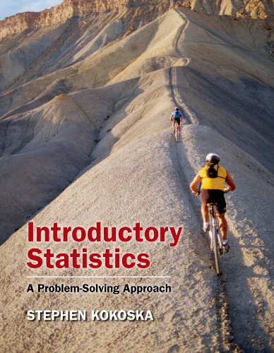 Introductory Statistics: A Problem-Solving Approach [With CDROM]