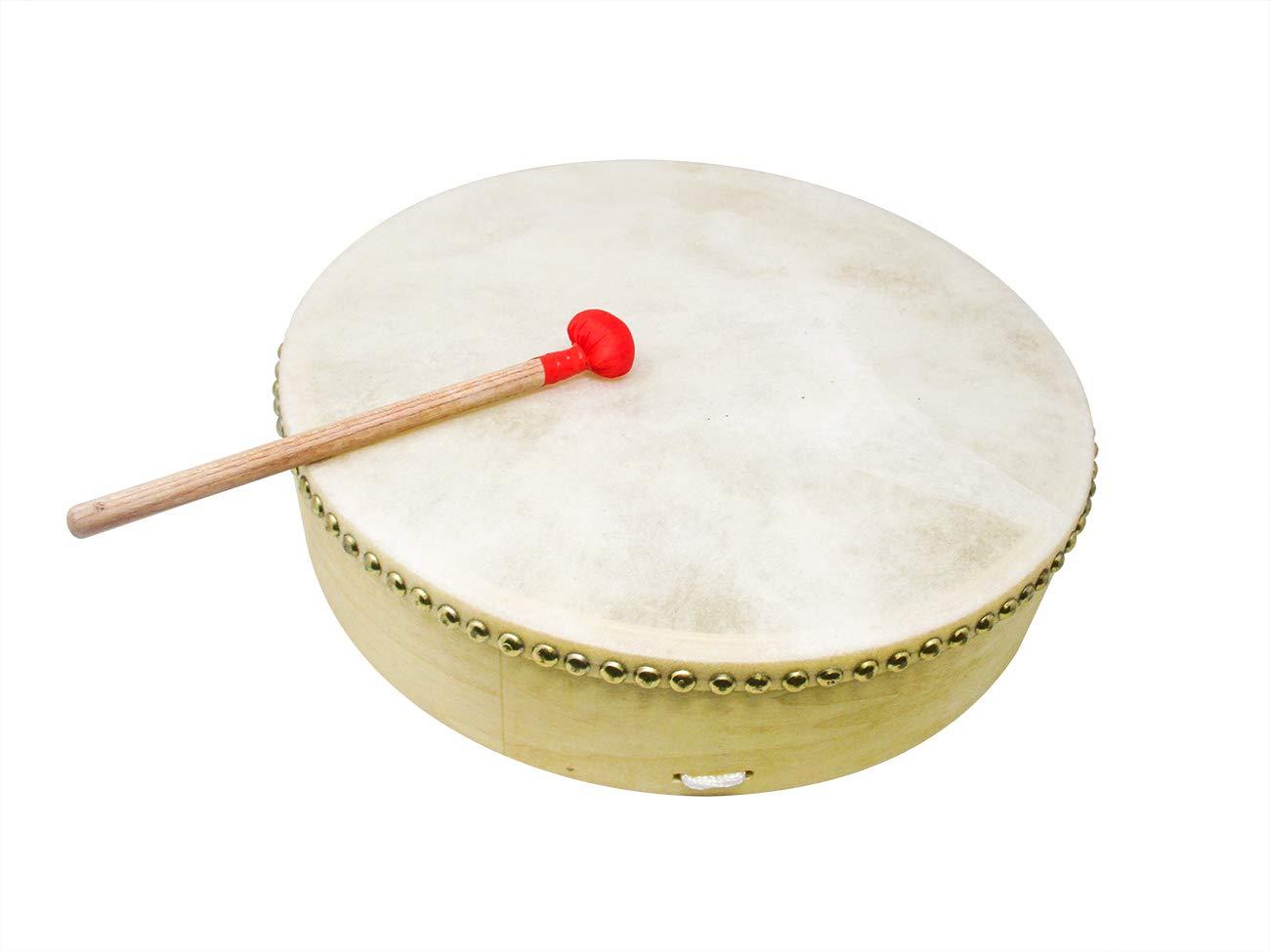 16 Inch Buffalo Tambourine Hand Drum by Trademark Innovations