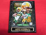 Aaron Rodgers Packers Collector Plaque w/8x10 2014 MVP Photo