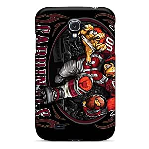 High Impact Dirt/shock Proof Case Cover For Galaxy S4 (arizona Cardinals) by lolosakes