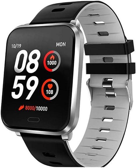 WTYCHS Monitores de Actividad Reloj Inteligente Fitness Tracker IP68 Impermeable Frecuencia cardíaca Monitor de ...
