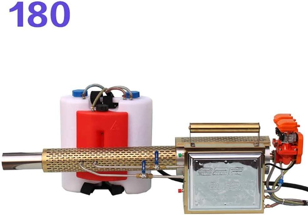 ZXIAQI 16L Nebulizador térmico Chorro de Pulso de Humo Máquina portátil de Niebla eléctrica de Niebla Pesada Jardín de Alta presión Pulverizador Agrícola Multifuncional para Granjas, Huerta, Calle