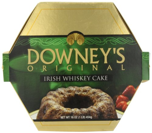 Liqueur Irish (Downey's Original Cake, Irish Whiskey, 16 Ounce)