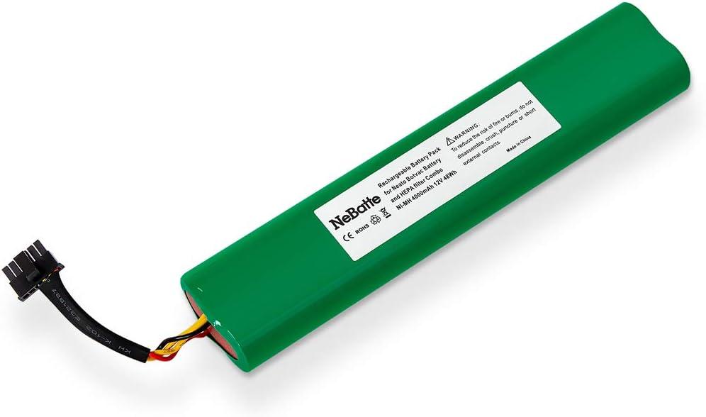 NeBatte Neato Botvac 12v 4000mAh Ni-MH Reemplazo de la batería ...
