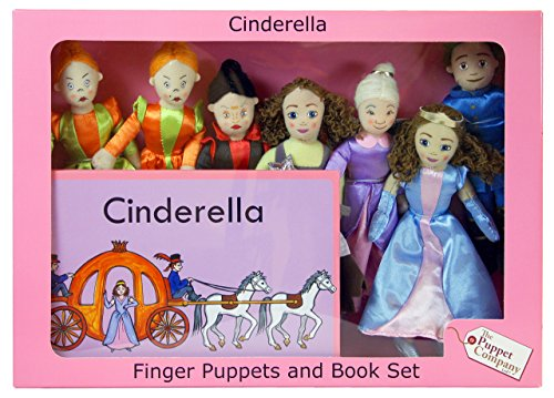 The Puppet Company - Traditional Story Sets - Cinderella Finger Puppet Set [Toy]