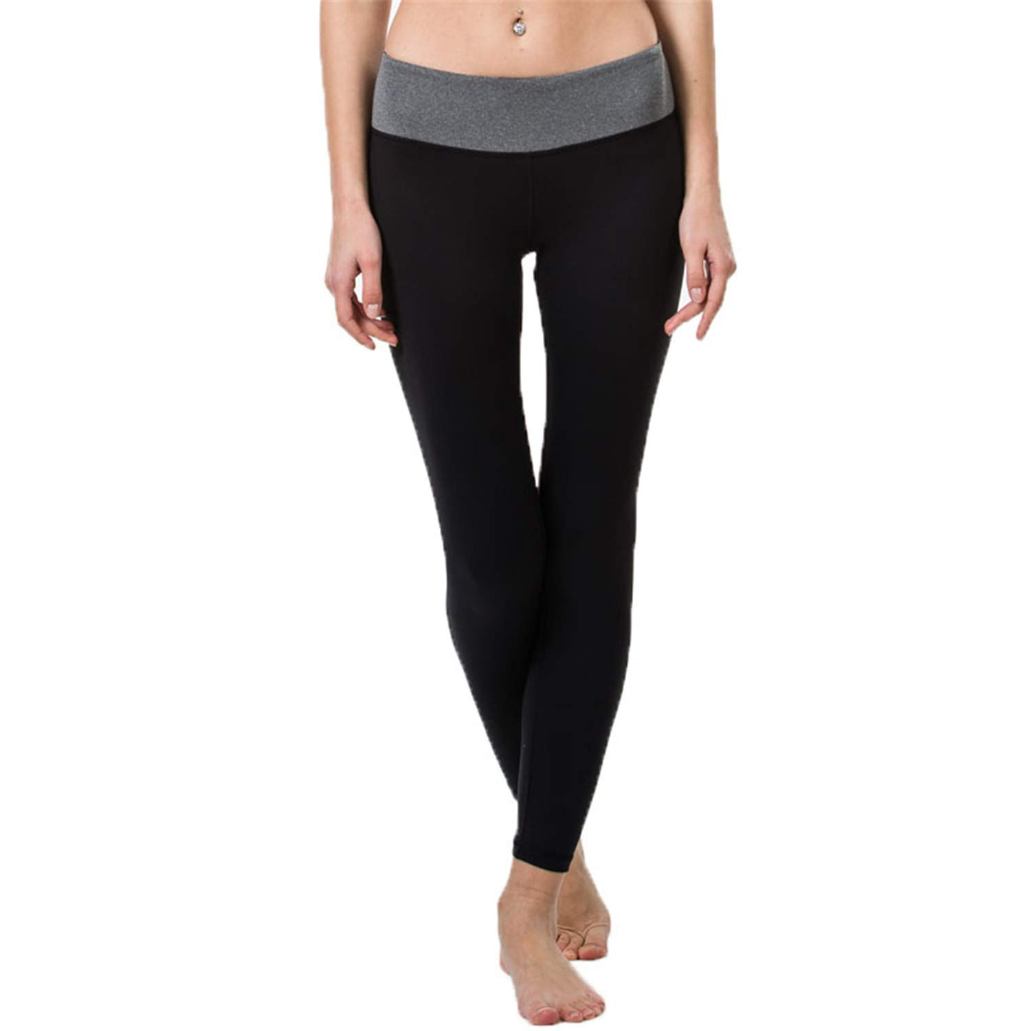 Amazon.com: Yoga Pant Womens Compression Running Leggings ...