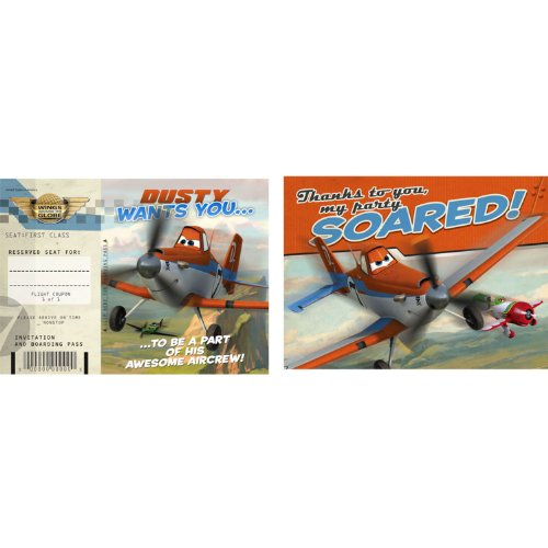Disney Planes Invitation & Thank You (8) -