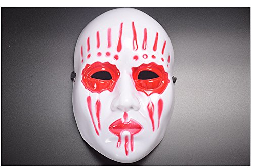 CHOP MALL Bloody Scary Face Mask Happy Halloween Dress-Up Costume Party Novelty Mask for Halloween Party Masquerade Cosplay Festival Parties