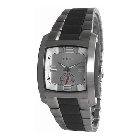 Breil Reloj Analógico para Hombre de Cuarzo con Correa en Acero Inoxidable BW0225: BREIL: Amazon.es: Relojes